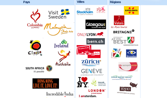 A lot of cities and regions have adopted a place-branding approach.